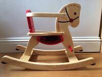 Pintoy Shetland Rocking Horse