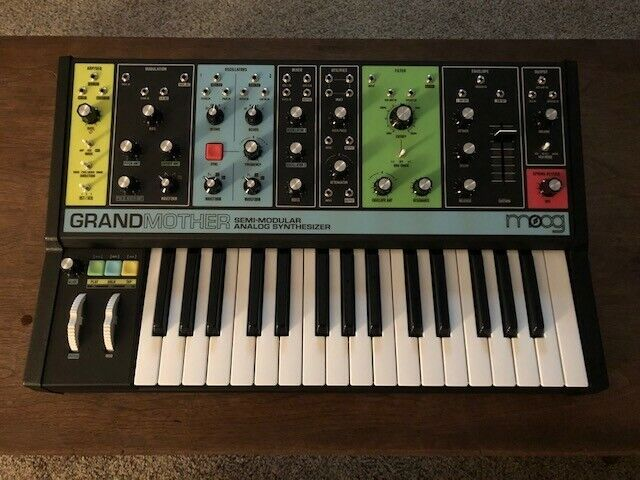 Moog Grandmother Semi-Modular Synth - Played ONCE!!!! In Original Packaging