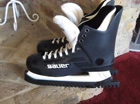 Bauer turbo ice skates size 11