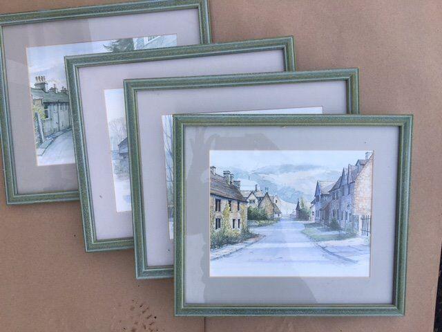 Four Framed Pictires