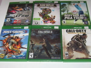 XBOX ONE GAMES - USED - PRICES AS MARKED