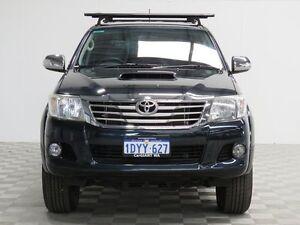 2012 Toyota Hilux KUN26R MY12 SR5 (4x4) Black 4 Speed Automatic Dual Cab Pick-up Jandakot Cockburn Area Preview