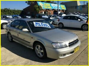 1999 Subaru Liberty B3 RX AWD Silver 4 Speed Automatic Sedan