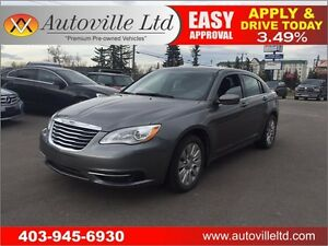 2013 Chrysler 200 LX  BLUETOOTH, REMOTE START- Everyone Approved