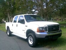 2006 Ford F250 RN XLT White 4 Speed Automatic Utility Southport Gold Coast City Preview