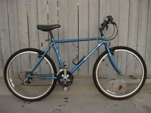 Mens Al, CrMo & steel frame hybrid and mtn. bikes, $60 and up