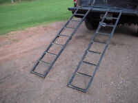 Heavy-duty ATV ramps