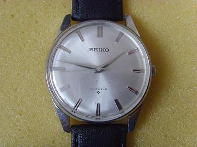 Vintage Seiko 66B 17J Mechanical Manual Used Watch