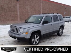 2017 Jeep Patriot 4WD HIGH ALTITUDE Accident Free,  Heated Seats