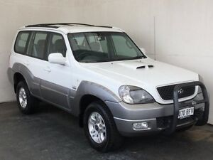 2005 Hyundai Terracan HP MY05 White 4 Speed Automatic Wagon Mount Gambier Grant Area Preview