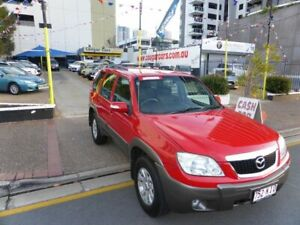 2007 Mazda Tribute MY06 V6 Red 4 Speed Automatic Wagon Southport Gold Coast City Preview