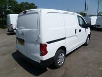 Nissan Nv200 1.5 Dci Acenta EURO 5 DIESEL MANUAL WHITE (2016)
