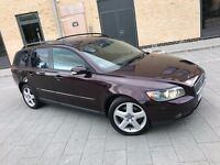 Volvo V50 2.0 D SE 5dr,2006,Estate,1 OWNER,FULL SERVICE HISTORY,HPI CLEAR,PRIVACY GLASS,SUNROOF