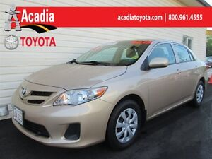 2012 Toyota Corolla CE Enhanced Conv. Pkg with Heated Seats and
