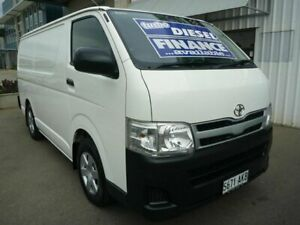 2010 Toyota HiAce KDH201R MY11 LWB White 5 Speed Manual Van Edwardstown Marion Area Preview