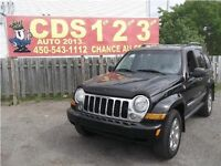 Jeep Liberty 2006 4X4 NOIR