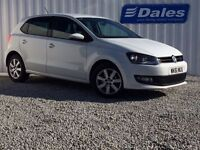 Volkswagen Polo Match 1.4 85 5dr (white) 2011