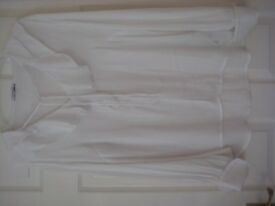 VINTAGE LOOK FINE LONG SLEEVE BLOUSE - SIZE 14 - CONCEPT