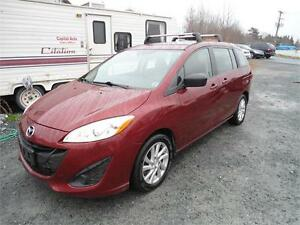 GREAT DEAL !!! 2012 Mazda5 automatic +ROOF RACKS!!!NEGOTIABLE
