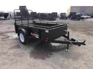 Steel Utility Trailers In Many Sizes -  Contractor Grade