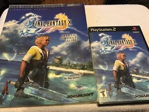 Final Fantasy X + Strategy guide