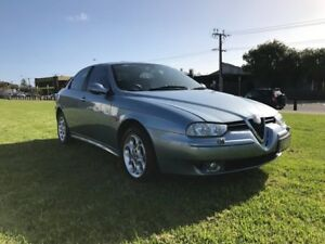 2002 Alfa Romeo 156 Selespeed Twin Spark Silver 5 Speed Seq Manual Auto-Clutch Wagon Somerton Park Holdfast Bay Preview