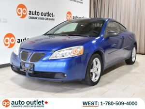 2006 Pontiac G6 GT Auto; SUNROOF, LOW KM, FACTORY REMOTE START!