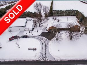 SOLD: Hobby Farm in Otterville w Heated Shop, Driveshed & Home