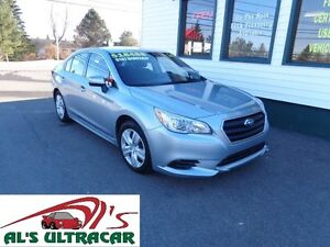 2015 Subaru Legacy 2.5i for only $147 bi-weekly all in!