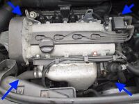 Audi A2 1.4 AUA ENGINE complete 5 speed GEARBOX FDM injector starter motor 58k