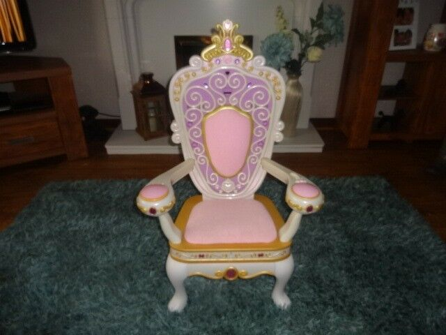 Barbie My Size Throne Chair With Sound Life Child Size