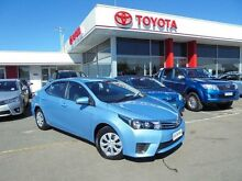 2014 Toyota Corolla ZRE172R Ascent Blue Mist 7 Speed CVT Auto Sequential Sedan Belmore Canterbury Area Preview