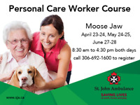St. John Ambulance Personal Care Worker Course