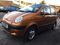 Daewoo Matiz 0.8 se+ low mileage 52,000 miles 12 months mot good small car or learner car