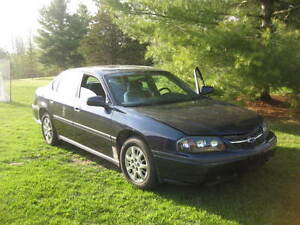 2000 Impala with 80,000 km for parts