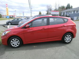 2013 Hyundai Accent GLS H/B  $10000.tax incl Finance $79.biwkly