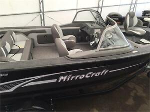 MIRROCRAFT 18FT DUAL IMPACT FISH AND SKI