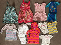 Girls bundle 4-5 (JoJo Maman Bebe, Boden, NEXT, M&Co, Powell Craft) (12 items)