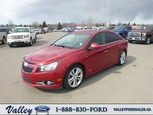 In the small car big leagues!  2011 Chevrolet Cruze LTZ Turbo RS