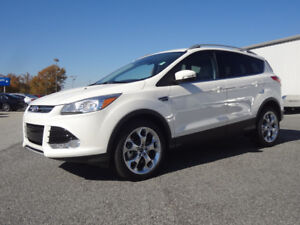 Low KM 2015 Ford Escape Titanium Fully Loaded, Great Price.