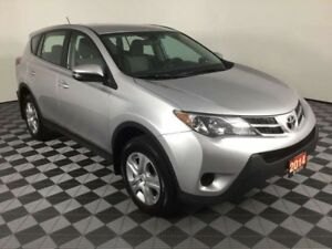 2014 Toyota RAV4 LE w/BACKUP CAMERA AND SENSORS, BLUETOOTH