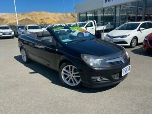 2007 Holden Astra TS MY06 Convertible Black 5 Speed Manual Convertible Osborne Park Stirling Area Preview