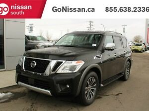 2018 Nissan Armada SL: LEATHER, 4X4, HEATED SEATS, HEATED STEERI