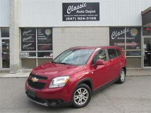 2012 CHEVROLET ORLANDLO 1LT *7 PASS,ALLOY WHEELS,PRICED TO SELL*