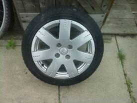 Citroën car wheel