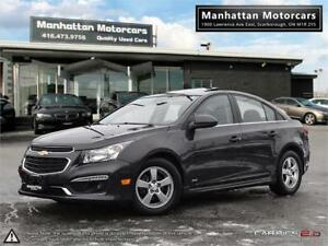 2015 CHEVROLET CRUZE LT RS PKG |ROOF|CAMERA|ALLOYS|WARRANTY