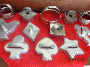 Vintage Cookie Cutters:  All for only $8.00!