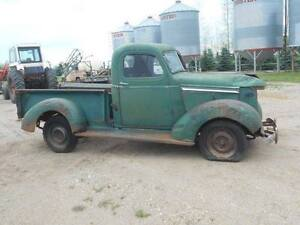 wanted 1940 chev truck parts