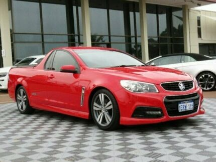 2014 Holden Ute VF MY14 SS Ute Red 6 Speed Sports Automatic Utility
