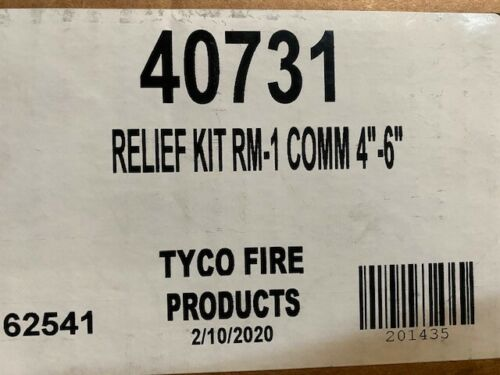 """Tyco 40731 Relief Kit RM-1 Comm 4""""-6"""" (NEW)"""